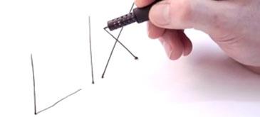 Lix - creionul 3D cel mai mic din lume