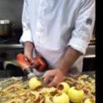 Practic (10) – Cum sa cureti rapid o cantitate mare de mere