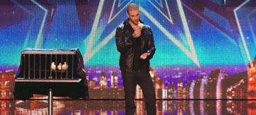Un numar de magie @ Britain's Got Talent 2014