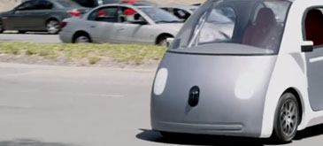 Google a lansat masina fara sofer
