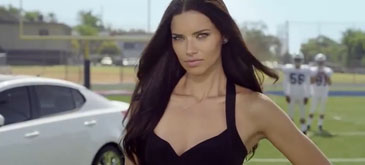 Adriana Lima - KIA World Cup 2014 TV Commercial Ads
