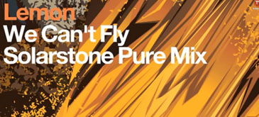 Lemon - We Can't Fly (Solarstone Pure Mix)