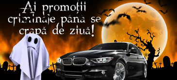eMAG – Halloween 2014 -  Noaptea bantuitilor de promotii – premiu BMW Seria 3