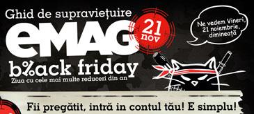 Black Friday la eMAG incepe maine