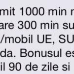 Cadou 1000 minute nationale/internationale (valabile 3 luni) de la Orange