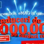 Ziua eMAG – 13 ani, reduceri de 10 milioane de lei