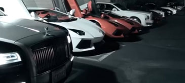 Chinese Kids Driving Supercars Inside the Secret Southern California Meet-up