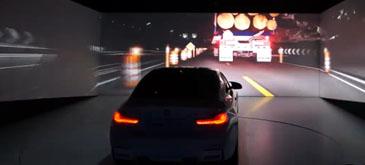 Prezentare faruri laser Audi BMW - CES 2015