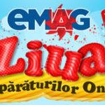 Ziua Cumparaturilor Online la eMAG – 10% card cadou la orice comanda