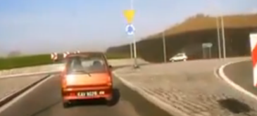 Femeia la volan (71) – Stiu sa circul in sensul giratoriu