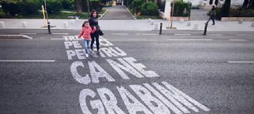 IGPR a lansat o campanie pentru pietoni - Nu trece dincolo!''