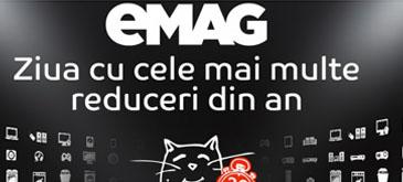 Bilant Black Friday la eMAG comenzi de 602 mii de produse în valoare de 202 milioane lei