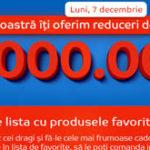 Ziua eMAG – 14 ani, reduceri si carduri cadou de 10 milioane de lei
