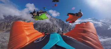 Wingsuit Flying – Best Of 2015