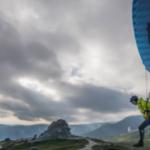 Speedflying in Bucegi