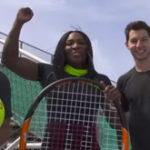 Tennis Trick Shots ft. Serena Williams