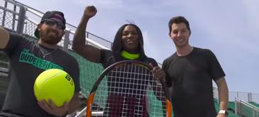 Tennis Trick Shots ft. Serena Williamst