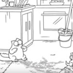Animatie: Muddy Paws – Simon's Cat