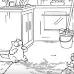 Animatie: Muddy Paws – Simon's Cat