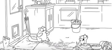 Animatie Muddy Paws - Simons Cat