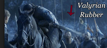 Sabia lui Jon Snow's din otel valyrian