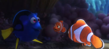 Animatie Finding Dory - every publicity movie clip so far