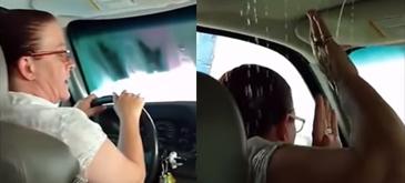 Femeia la volan (90) - Azi ducem masina la spalat