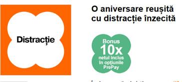 Orange PrePay - oare cum pot consuma bonusul de 10 GB