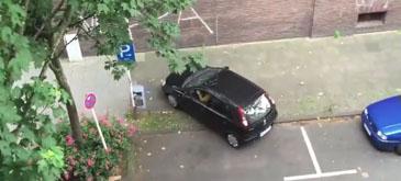 The worst parking job ever!