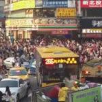Nebunie pe strazile din Taipei din cauza unui Pokemon
