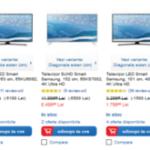 Super reduceri la televizoarele Samsung LED 4K Ultra HD