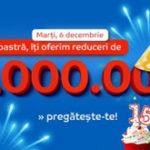 eMAG: reduceri de 10.000.000 LEI la 15 ani de existenta