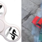 Fidget Spinner Trick Shots/Trucuri