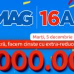 Ziua eMAG – 16 ani, extra reduceri de 10 milioane de lei
